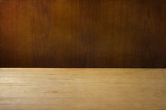 Background with wooden deck Stock Photography