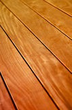 Background of Wooden Floor or Deck. Abstract Background Texture of Wooden Floor Boards With Shallow Depth of Focus royalty free stock photos