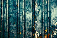 Background of wooden horizontal boards with peeling paint for yo Royalty Free Stock Images