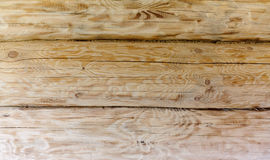 Background of wooden logs, beautiful wood texture Royalty Free Stock Photography