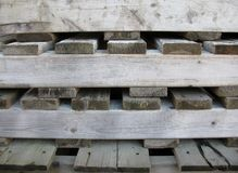 Background from a wooden pallets Royalty Free Stock Images