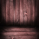 Background wooden panel boards red Stock Image