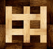 Background with wooden patterns Royalty Free Stock Photo