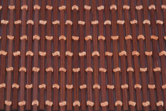 Background. Wooden placemat texture for background, close-up image Royalty Free Stock Photography