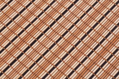 Background. Wooden placemat texture for background, close-up image Stock Images