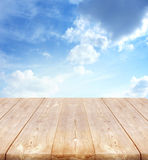Background with wooden planks Stock Photo