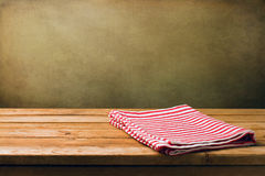 Background with wooden table Royalty Free Stock Photos