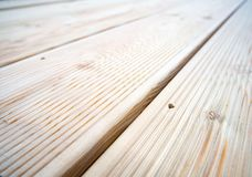 Background of a wooden terrace boards laid side by side.  royalty free stock photos