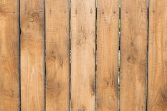 Wooden texture, fence of wooden boards, vertical stripes. Background of wooden texture, fence of wooden boards, vertical stripes stock image