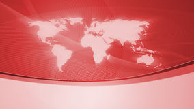 Background with world map, red Royalty Free Stock Photos