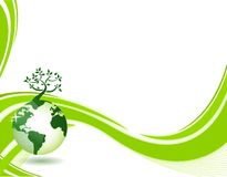 Background_world_tree Stock Image