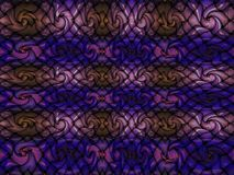 Background with woven metal, abstract image Royalty Free Stock Photos