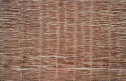 Background of woven wood Stock Photo
