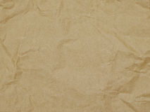 Background, wrapping paper, texture, brown, wrinkle Stock Photography