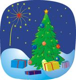 Background xmas vector illustration