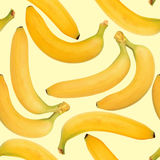 Background of yellow bananas Stock Photography