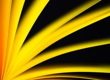 Background yellow on black Royalty Free Stock Images