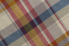 Blue and Red Plaid Royalty Free Stock Images