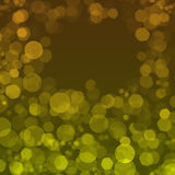 Background with yellow circles Stock Images