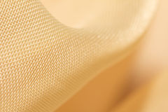 Background of yellow curtains Stock Photos
