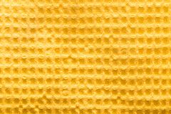 Background of yellow fabric Stock Photo