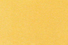 Background of yellow fabric, texture of the material, close up Royalty Free Stock Photo