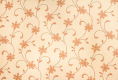 Background yellow floral fabric. royalty free illustration