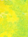 Background, yellow-green. Yellow-green watercolor wash background Stock Image