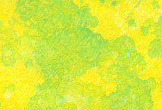 Background, yellow-green. Yellow-green watercolor wash background Stock Photos