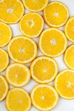 Background of  yellow lemon slices Royalty Free Stock Photos