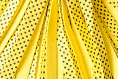 Background of yellow new MOP. Close up. The concept of purity.  stock photography