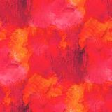 Background yellow, orange watercolor art seamless Stock Photo