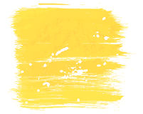 Background yellow paint. For your design. Vector Royalty Free Stock Photography