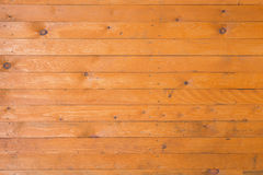 Background of yellow painted boards Stock Photos