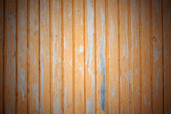 Background of yellow painted boards stock photo