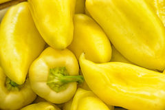 Background of Yellow Pepper Royalty Free Stock Photos