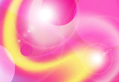 Background yellow pink vector Royalty Free Stock Photography