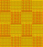 Background with yellow red squares. Yellow red background like knitted. Checkered yellow red background Royalty Free Stock Image
