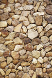 Background from yellow rocks Stock Images