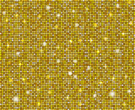 Background Yellow Sparkle Disco Royalty Free Stock Photography