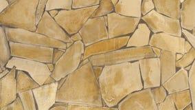 Background of yellow stones Stock Photo