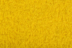 Background of yellow terry towels Royalty Free Stock Image