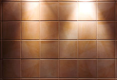 Background from a yellow tile Royalty Free Stock Photo