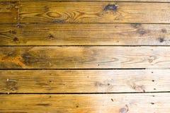 Background yellow wooden floor Stock Image