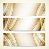 Background for your business. Gold christmas background for your business. Vector illustration Royalty Free Stock Photography