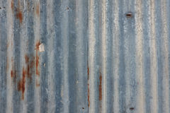 Background zinc. Roofs and walls Royalty Free Stock Image