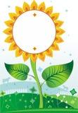 background1 słonecznik Obrazy Stock