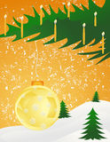 background11圣诞节 皇族释放例证