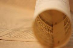 background16新闻用纸葡萄酒 免版税库存图片