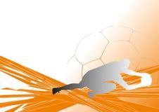background4 ποδόσφαιρο απεικόνιση αποθεμάτων